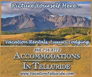 Accommodations In Telluride : Telluride Boutique Lodging!