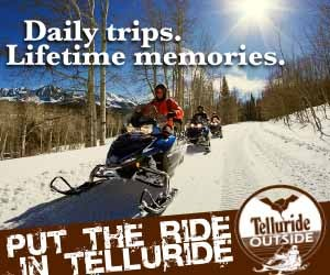 Telluride Outside - Snowmobile Tours - Snowmobiling.