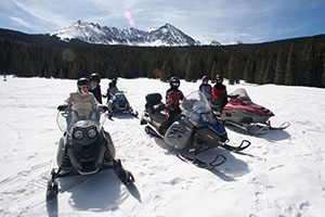 Telluride Outside - Snowmobile Tours :: Take the ride of your life on one of our snowmobile tours! 1/2 day, advanced 1/2 day, & full day tours. Each tour is catered to the ability of our guests! Call today to book!