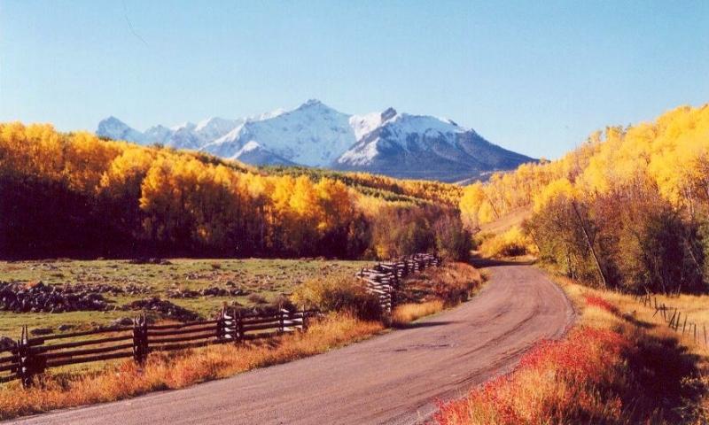 Telluride Colorado Scenic Routes Driving Auto Tours