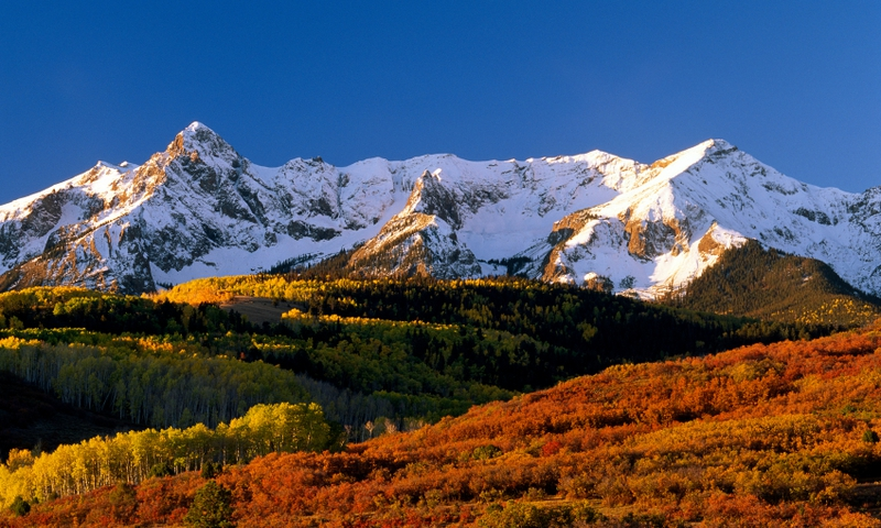 Telluride Colorado San Juan Mountains