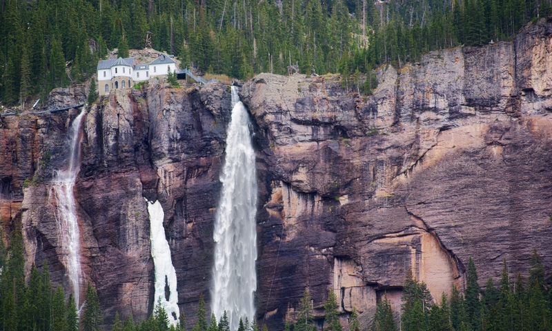 Bridal Veil Falls in Telluride