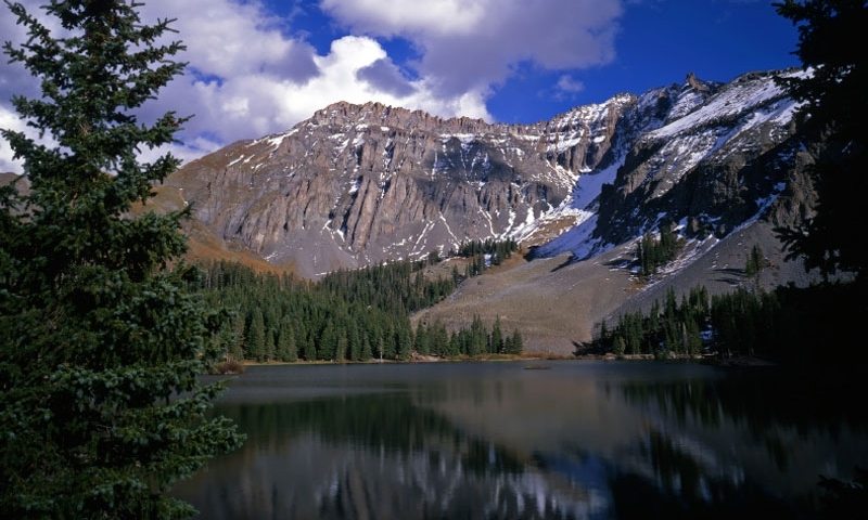 Alta Lake in Uncompahgre National Forest