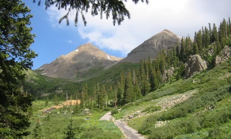 Telluride Colorado Attractions Yankee Boy Basin