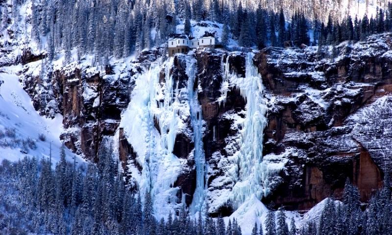 Bridal Veil Falls Colorado Alltrips
