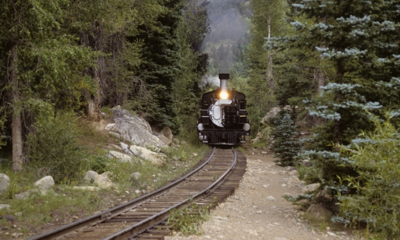 The Durango Silverton Steamtrain