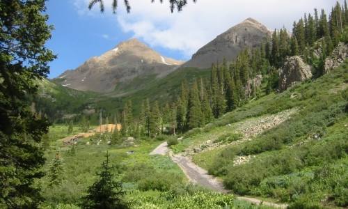 Yankee Boy Basin Telluride Colorado