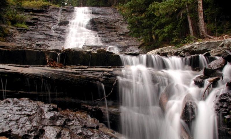 Waterfall Imogene Pass Colorado