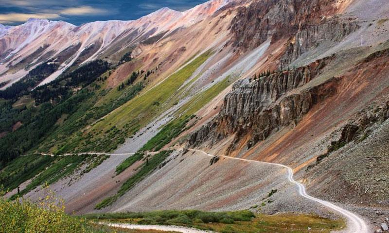 Ophir Pass Road Telluride Scenic Drive Atv Jeep Off Road Colorado