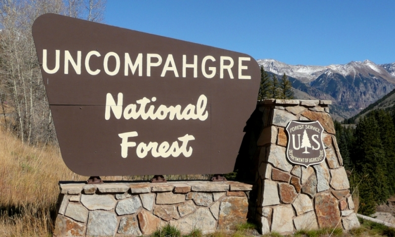 Uncompahgre National Forest Colorado Alltrips
