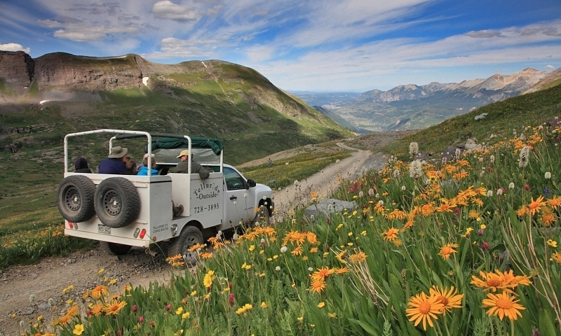 Jeep Tour in Telluride Colorado