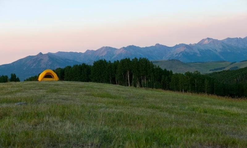 Camping near Telluride