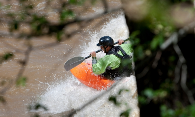Kayaking the Animas River