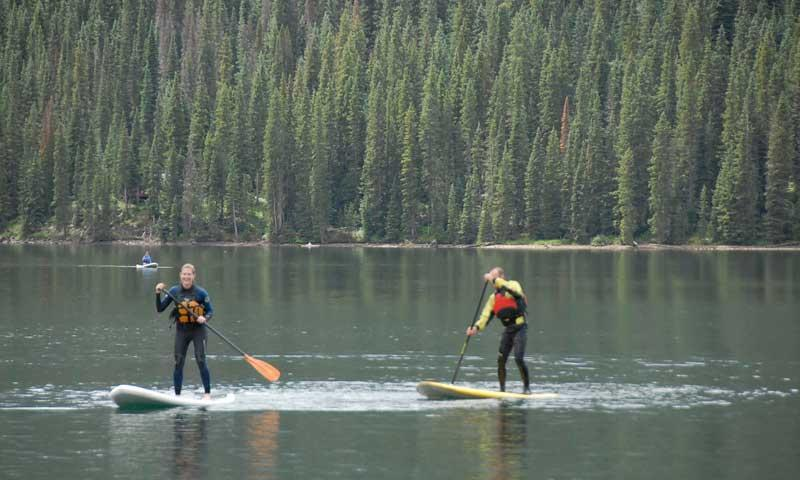 Stand Up Paddle Boarding near Telluride Colorado