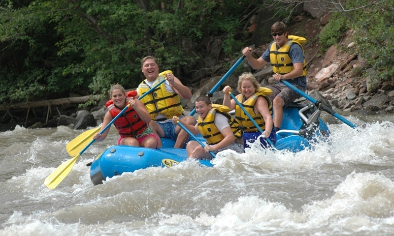 Whitewater Rafting near Telluride Colorado