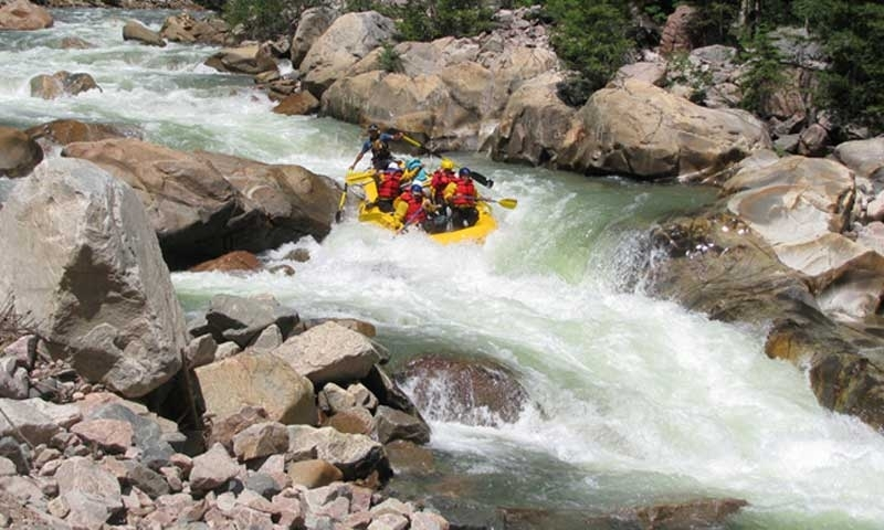 Rafting Telluride Colorado