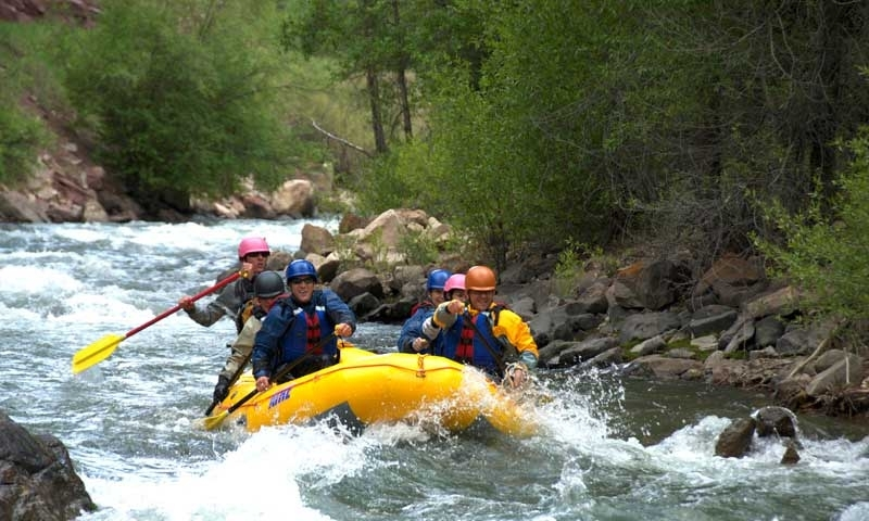 Whitewater Rafting Telluride Colorado