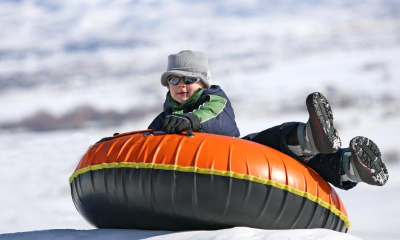 Telluride Colorado Snow Tubing