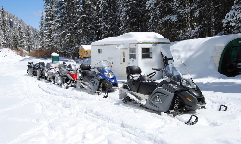 Snowmobiling Telluride Colorado Tour Winter